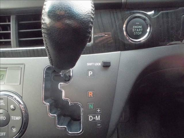 エンジンプッシュスタート MTモード付きインパネCVT