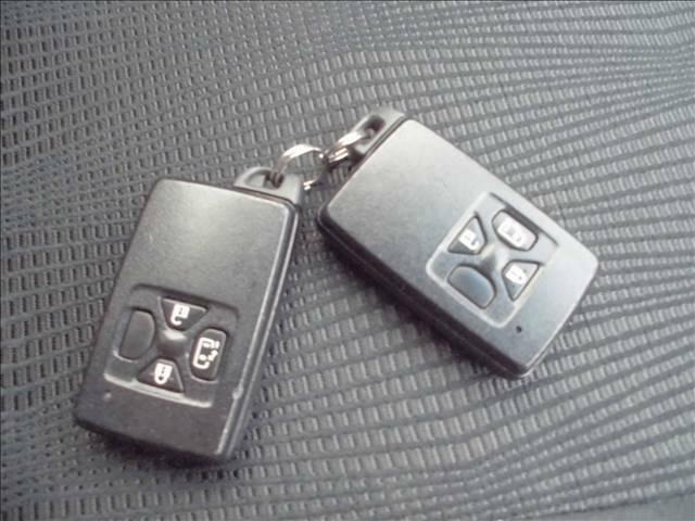 便利なスマートキーは2個あります。