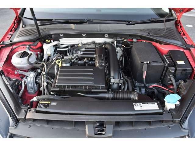 ハイラインなのでコンフォートラインやトレンドラインより高出力のエンジンが載ってます。