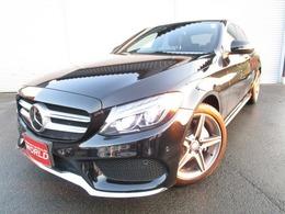 メルセデス・ベンツ Cクラス C220 d アバンギャルド AMGライン ディーゼルターボ スポーツ 黒レザーシートWDD205