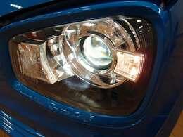 「ディスチャージ」ヘッドライトが明るいので、視界もよく、見た目もかっこいいです♪
