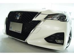トヨタ クラウンアスリート ハイブリッド 2.5 S Jフロンティア リミテッド 本革 新品19アルミタイヤ 新品車高調