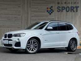 BMW X3 xドライブ20d Mスポーツ ディーゼルターボ 4WD インテリセーフ 純正ナビTV Bカメラ