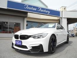BMW M4クーペ M パフォーマンス エディション M DCT ドライブロジック MDCT 1オナ 赤革 Mパフォパーツ装備