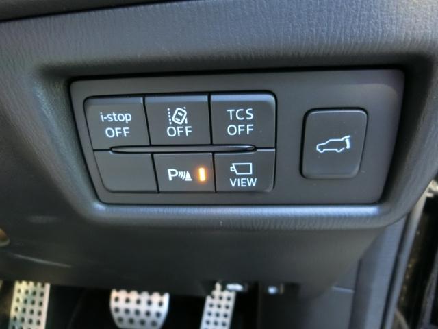 アイドリングSTOP・車線逸脱警報・トラクションコントロールシステム・パーキングセンサー・電動リアゲート