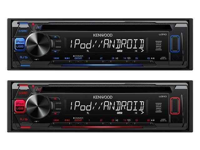 Aプラン画像:ケンウッドの新品デッキに交換致します(MP3/WMA/WAV対応CD/USB/iPodレシーバー)お気に入りの曲でドライブへGO♪