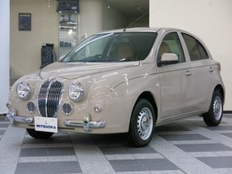 光岡自動車 ビュートハッチバック 1.2 なでしこ 12DX 4WD ココア革 クラシックドアトリム
