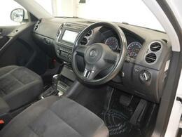 SUVならではの高い視点と広い視界、多彩な機能。