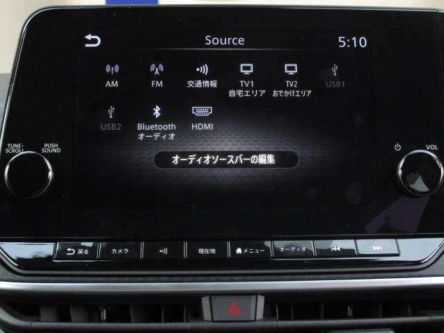 フルセグTV内蔵ナビゲーション☆HDMIやBluetoothにも対応♪