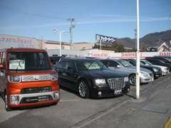 ダイハツを始め国産全ディーラーの新車も取り扱っています。