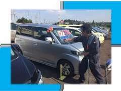 ■展示車両も多数あります!お客様に気に入っていただけるよう、毎日洗車しております!