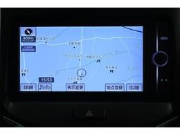 純正SDナビゲーション(NSZT-W62G)  初めて行く場所でも道に迷うことなく安心です!