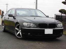 BMW 7シリーズ 740i 黒革 SR ナビ 車高調 20AW