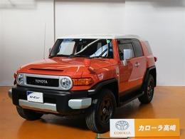 トヨタ FJクルーザー 4.0 カラーパッケージ 4WD SDナビ フTV ドラレコ クルーズC
