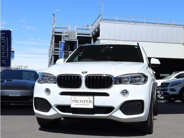 BMW X5 xDrive 35i Mスポーツ 右ハンドル ディーラー車