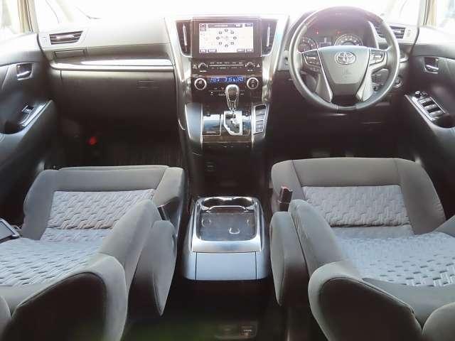 前席はこんな感じ!内装の状態やシートの座り心地などぜひ直接ご確認ください!