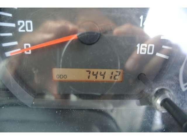 まだまだこれから!走行距離74412km!
