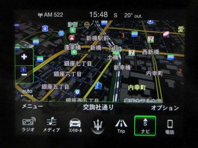 ◆8.4インチのタッチスクリーンは、他の最新マセラティモデルに搭載されるものと同じで、Apple CarPlayおよびAndroid Autoに対応。オーディオにはharman kardonプレミアムサウンドシステムを標準装備しています◆