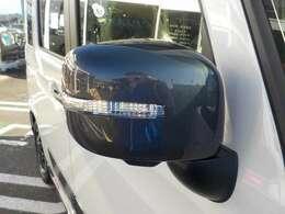 LEDサイドターンランプ付ドアミラー