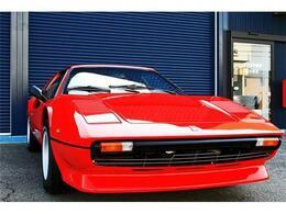 フェラーリ 308GTS  黒革シート