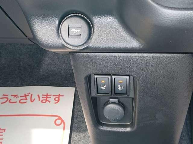 フロント両席シートヒーター付