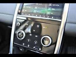 エアコンパネルも小変更でデザインが一新され最新テクノロジーを取り入れました。