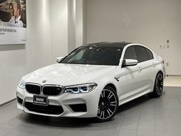 BMW M5 4.4 4WD トップビューACCハーマン黒レザ20AW禁煙車