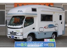 トヨタ カムロード バンテック ジル ツインサブ FF ルーフベント 電子レンジ 冷蔵庫