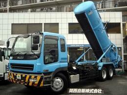 いすゞ ギガ 汚泥吸引車 9.5t NOX適合