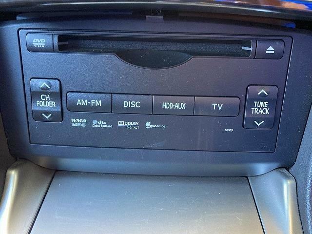 オーディオソースもAM/FM、CD/DVD、HDD、TVも対応しています。