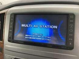 【純正ナビ】音楽を記録できるミュージックサーバーやフルセグTVの視聴も可能です☆高性能&多機能ナビでドライブも快適ですよ☆