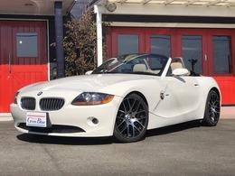 BMW Z4 ロードスター2.2i ベージュ革 新品18インチホイール 360画像