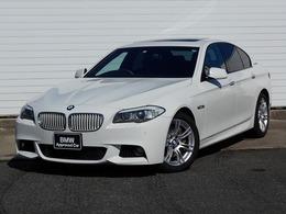 BMW 5シリーズ アクティブハイブリッド 5 Mスポーツパッケージ 18AW黒革SR地デジETC1オナ禁煙認定車