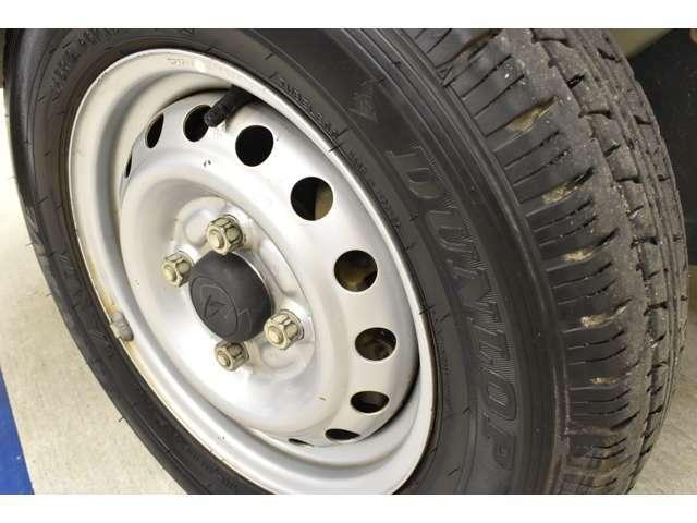 タイヤの溝もしっかりございます!