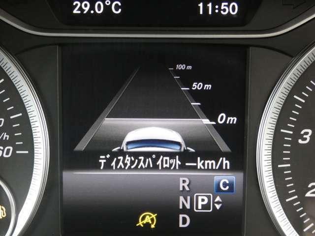 ディスタンスパイロット(前車追従型レーダークルーズ)や左右後方の死角になる個所を走行する車輌を感知し、ドライバーへ警告をするアクティブブラインドスポットアシスト等のレーダーセーフティをご使用頂けます!