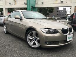 BMW 3シリーズカブリオレ 335i 本革シート 修復歴無し