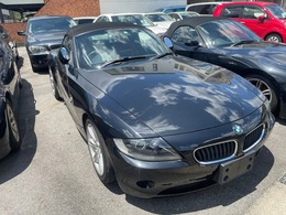 BMW Z4 ロードスター2.2i ロマンティック 赤革 シートヒーター バックモニター