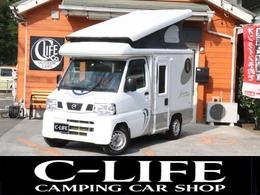 日産 クリッパートラック キャンピング インディ727 4WD FFヒーター ポップアップルーフ