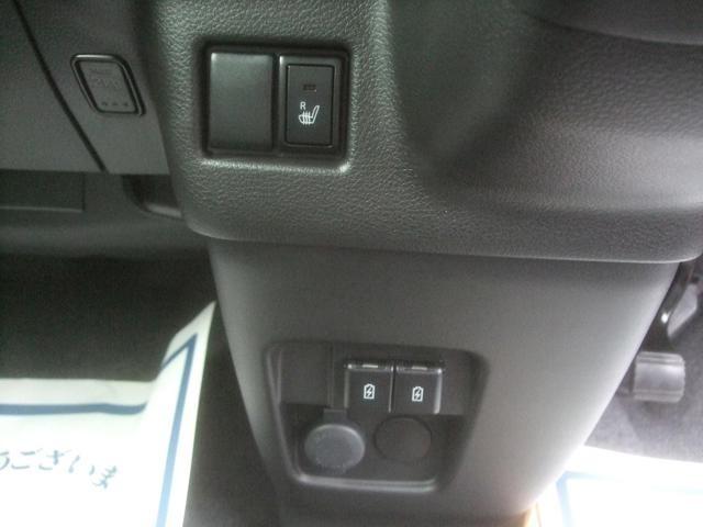 運転席シートヒーター USBソケット2個付き