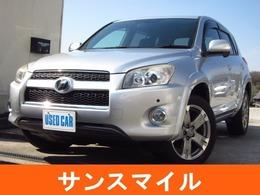 トヨタ RAV4 2.4 スポーツ 4WD 純正ナビ/ワンセグ/ETC/HID/禁煙車/記録簿