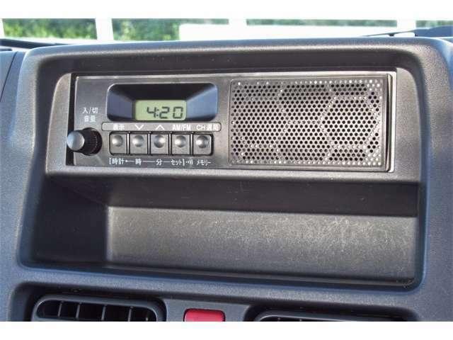 純正ラジオオーディオを装備しています!!当店では各種カーナビやドライブレコーダーも取り扱っておりますのでぜひお申し付けください!!!