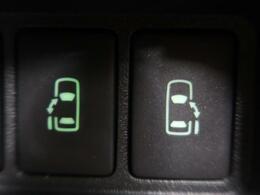 ★純正オプションの【両側電動スライドドア】 駐車場で隣の車が近い時、狭くて乗りにくい時ありますね、でもスライドドアなら開けた時に幅を取らず、とっても乗り降りが簡単♪