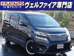 トヨタ ヴェルファイア 2.4 Z 新品20AW/新品タイヤ ナビ Bカメラ 7人乗