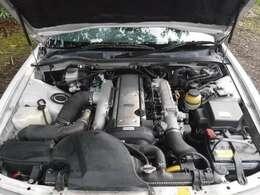 エンジンもノーマルです。