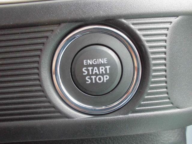 プッシュスタートでエンジン始動ラクラク!