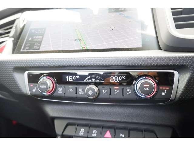 デラックスオートマチックエアコンディショナーを装備しております。シートヒーター完備ですので寒い時期も快適にお過ごし頂けます。