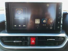 【純正オーディオ】フルセグ・Bluetoothにも対応しているのでドライブが快適になりますね!!