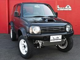 スズキ ジムニー 660 XL 4WD 2inchUP・ダウンギア・LSD・ナビ