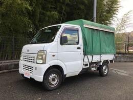 マツダ スクラムトラック 660 KC スペシャル 3方開 幌車 オートマ パワステ エアコン 検4年9月
