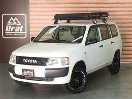 トヨタ プロボックスバン 1.5 DXコンフォートパッケージ 4WD 2インチリフトUP 各所黒塗装 キャリア ETC